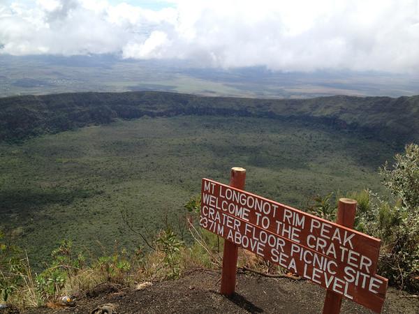 Crater Floor Picnic site