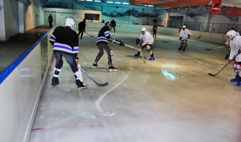 Skating at Panari