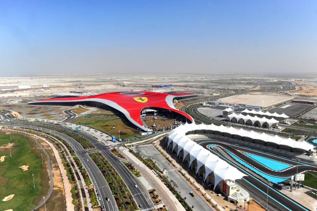 Ferrari World Abu Dhabi - pic source: YasIsland.ae