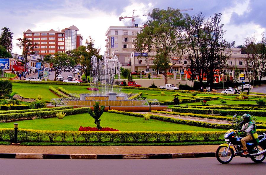 Kigali Town. source: thebuddhasaidiamawake.com