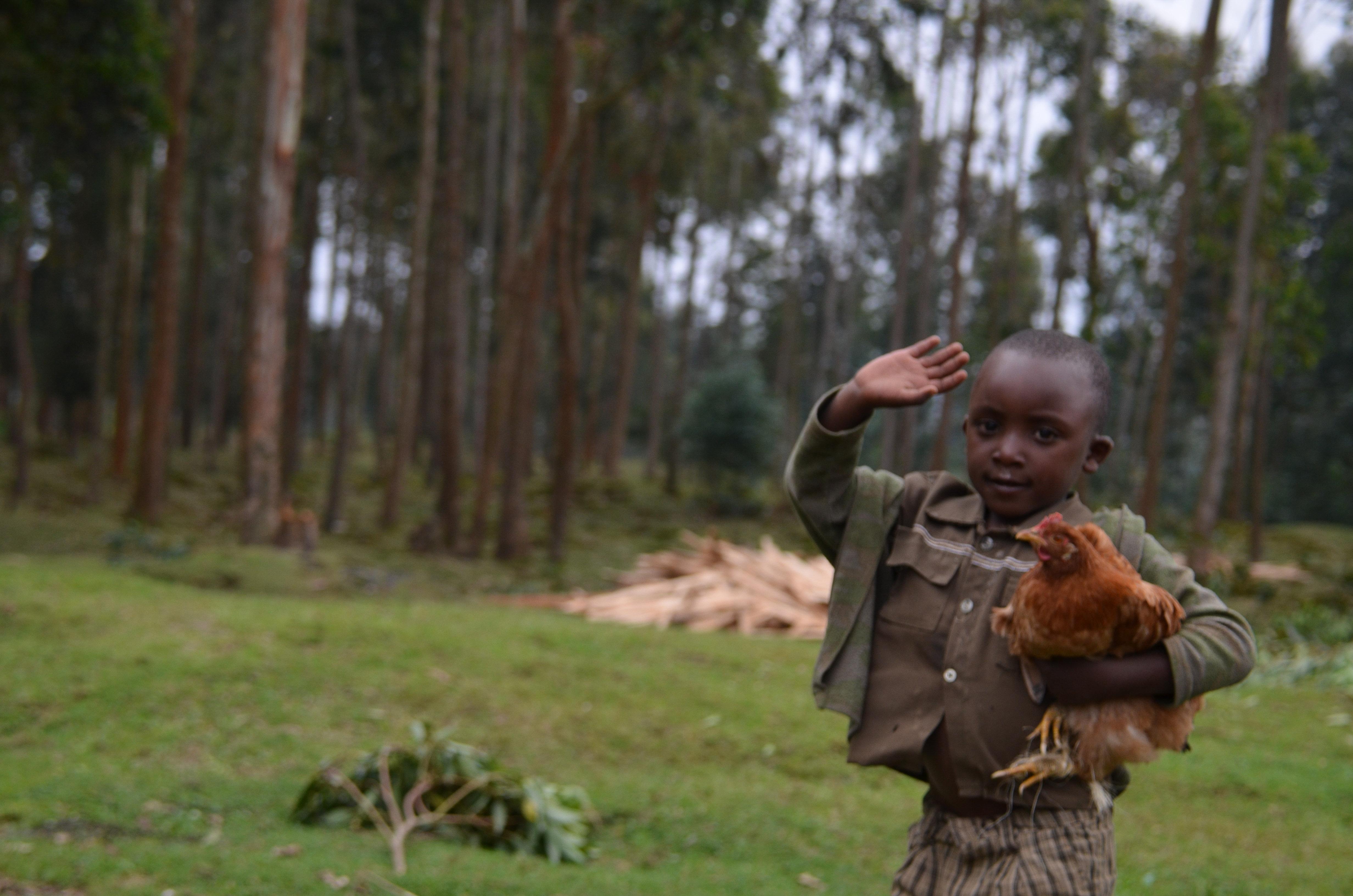 A kid from Rwandan. source: Kidnerin Rwanda