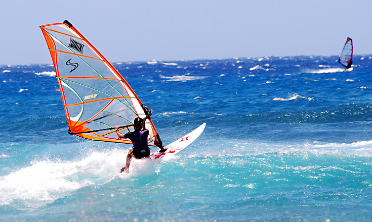Windsurfing in Zanzibar source: bluebayzanzibar.com