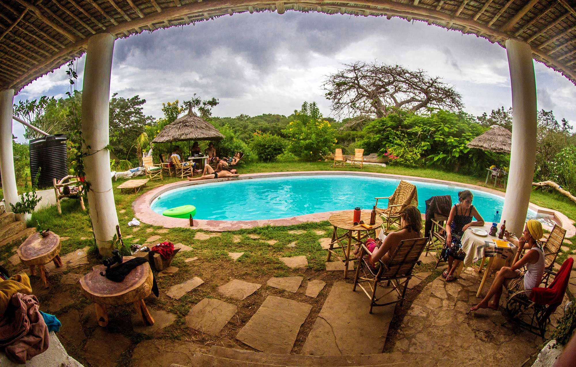 The Distant Relative Lodge, image source; kenya-coast.com